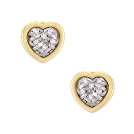 Kieselstein-Cord 18K Yellow & White Gold 0.15ctw. Diamond Earrings
