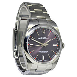 Rolex Oyster Perpetual 114300 Stainless Steel Automatic 39mm Mens Watch