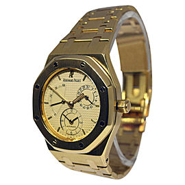 Audemars Piguet Royal Oak Dual Time 25730BA 18K Yellow Gold Automatic 36mm Mens Watch