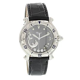 Chopard Happy Sport 26/8897 Stainless Steel with Floating Dolphin 38mm Womens Watch