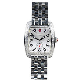 Michele Urban MW02M01A2001 Stainless Steel Diamond Womens Watch