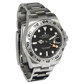 Rolex Explorer II 216570 Stainless Steel with Black Dial Automatic 42mm Mens Watch