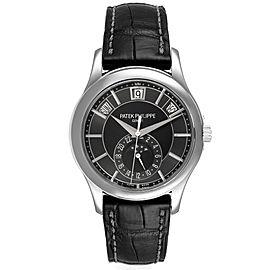 Patek Philippe Complications Annual Calendar White Gold Mens Watch 5205