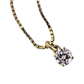 Georg Jenen 18K Yellow Gold with Diamond Necklace