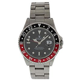 Rolex GMT Master II 16710 Stainless Steel Automatic 40mm Mens Watch