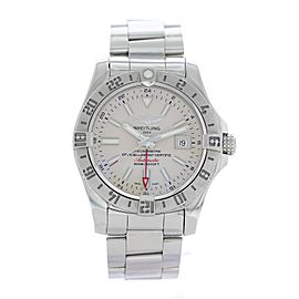 Breitling Avenger II GMT A32390 Stainless Steel Automatic 42mm Mens Watch