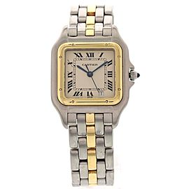 Cartier Panthere 187949 18K Yellow Gold & Stainless Steel 27mm Unisex Watch