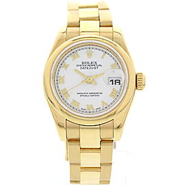 Rolex Datejust 179168 18K Yellow Gold Automatic 26mm Womens Watch