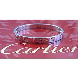 Cartier Love Bracelet 18K White Gold