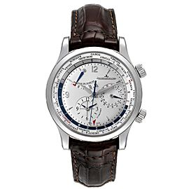 Jaeger Lecoultre Master World Geographic Mens Watch 146.8.32.S Q1528420