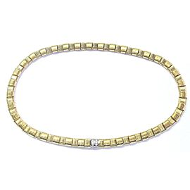 Roberto Coin 18K Yellow Gold with 0.18ctw Diamond Necklace