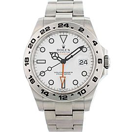 Rolex Oyster Perpetual Explorer II 216570 42mm Mens Watch