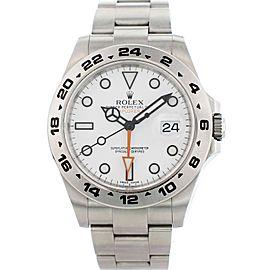 Rolex Oyster Perpetual Explorer II 216570 42mm Mens Watch