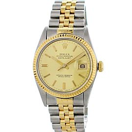 Rolex Oyster Perpetual Datejust 16013 Vintage 36mm Mens Watch