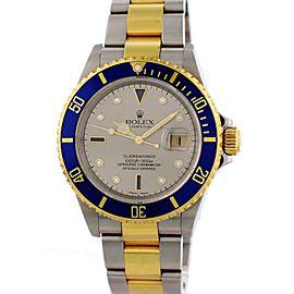 Rolex Submariner Date 16613 40mm Mens Watch
