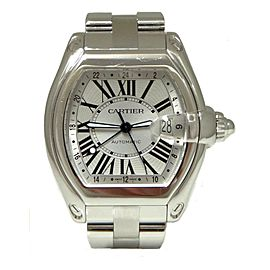 Cartier Roadster GMT 2722 42mm Mens Watch