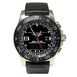 Breitling Airwolf Raven A78364 45mm Mens Watch