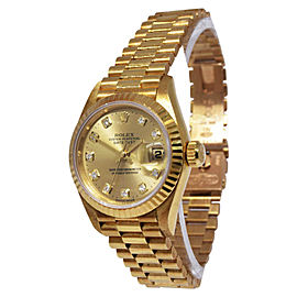 Rolex Datejust President 6917 26mm Womens Watch