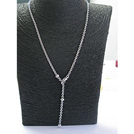 Bulgari 18K White Gold Necklace