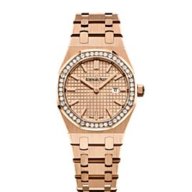 Audemars Piguet Royal Oak 67651OR.ZZ.1261OR.03 33mm Womens Watch