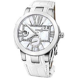 Ulysse Nardin Executive Dual Time 243-10 40mm Womens Watch