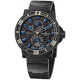Ulysse Nardin Marine Diver 263-92LE-3C/923-RG Limited Edition 46mm Mens Watch