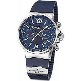 Ulysse Nardin Marine 353-66-3/323 41mm Mens Watch