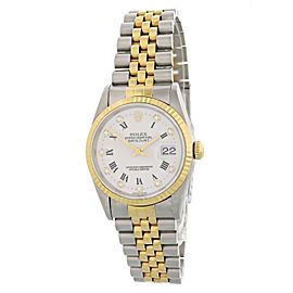 Rolex Oyster Perpetual Datejust 16233 36mm Mens Watch