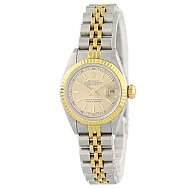 Rolex Oyster Perpetual Date 69173 26mm Womens Watch