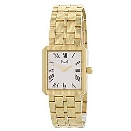Piaget Protocol 50154 M601D 18k Yellow Gold Watch