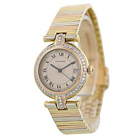 Cartier Trinity Vendome 18k Ladies Watch