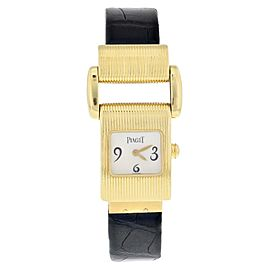 Piaget Miss Protocole 5221 18k Yellow Gold Ladies Watch