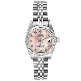 Rolex Datejust Steel White Gold MOP Dial Ladies Watch