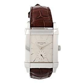Patek Philippe Gondolo 5111 18k White Gold Mens Watch