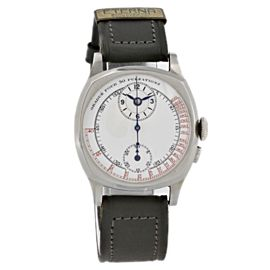 Eterna Vintage Chronograph Porcelain Dial Midsize Watch