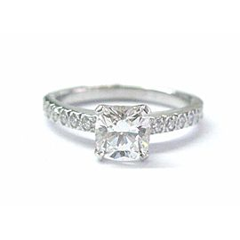 Tiffany & Co Platinum Novo Diamond Engagement Ring F-VS2 .88CT