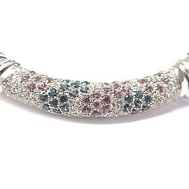 Roberto Coin Nabucco White Gold Diamond Necklace 18KT 3.15CT