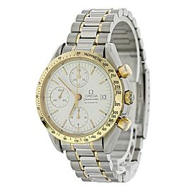 Omega Speedmaster Date 375.0043 Two Tone Mens Watch
