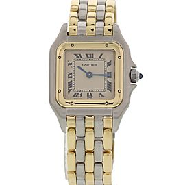 Cartier Panthere 18K YG & Steel 112000 R