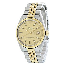 Rolex Oyster Perpetual Datejust 16013 Mens Watch
