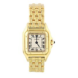 Cartier Panthere 8057917 C 18K Yellow Gold Ladies Watch