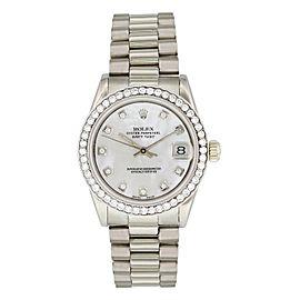 Rolex Datejust 68279 MOP Ladies Diamond Watch