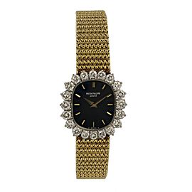 Patek Philippe Ellipse 4137 Diamond Bezel Ladies Watch
