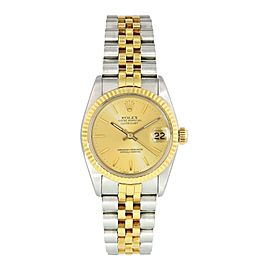 Rolex Datejust 68273 Midsize Ladies Watch