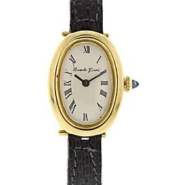 Ladies Vintage 18k Yellow Gold Bueche Girod Watch