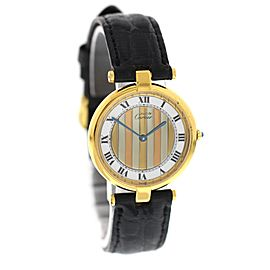 Ladies Must de Cartier Argent Art Deco Watch