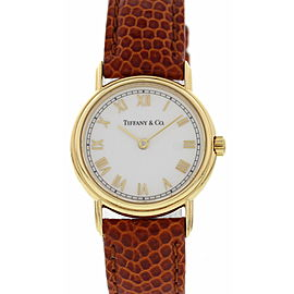 Ladies Tiffany & Co. 18K Yellow Gold L253