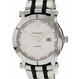 Tiffany & Co Atlas Stainless Steel & Rubber T1392