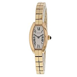 Cartier Lanieres 2592 18k Rose Gold Ladies Watch