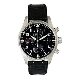 IWC Pilot Chronograph IW377701 Men Watch Original Box & Papers